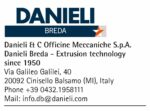 Danieli & C Officine Meccaniche S.p.A. Danieli Breda – Extrusion technology Since 1950